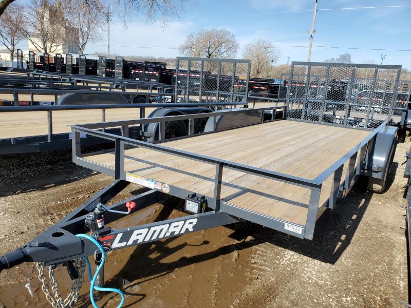 2020 Lamar Trailers 83x18 Tandem Axle Utility Trailer