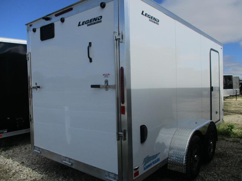 2020 Legend Manufacturing 7x16 Tandem Axle Enclosed Cargo Trailer