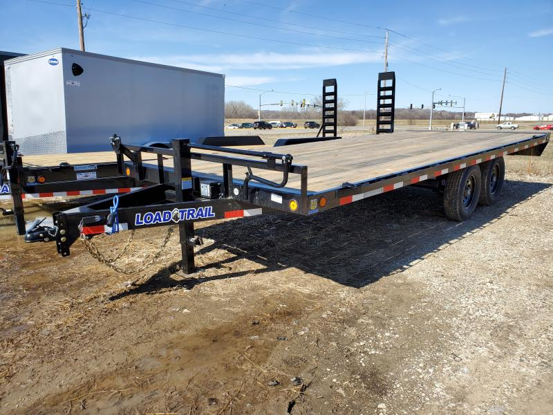 2020 Load Trail 102x20 Tandem Axle Carhauler Equipment Trailer