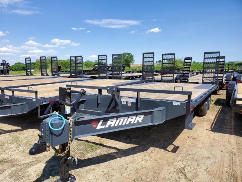 2020 Lamar Trailers 83x20 Tandem Axle Deck Over Flatbed Trailer