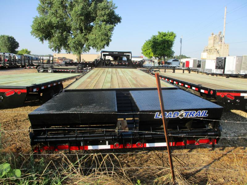 "2019 Load Trail 102"" x 30' Heavy Duty Gooseneck Equipment Trailer"