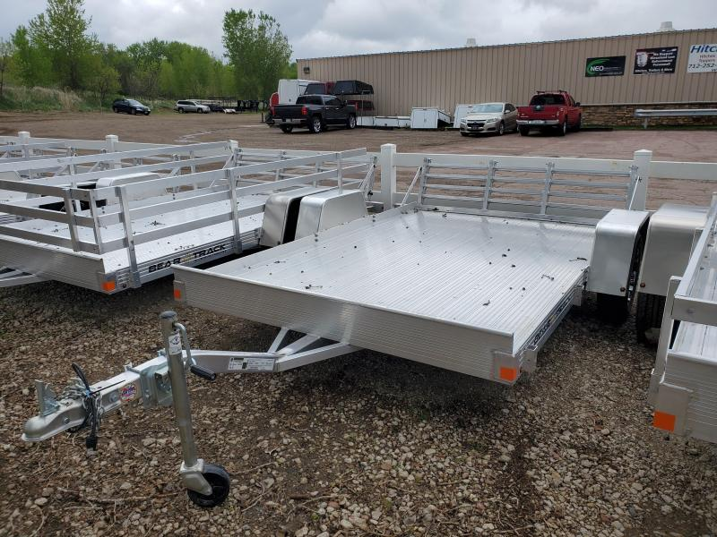2020 Bear Track 76x10 Single Axle Aluminum Utility Trailer