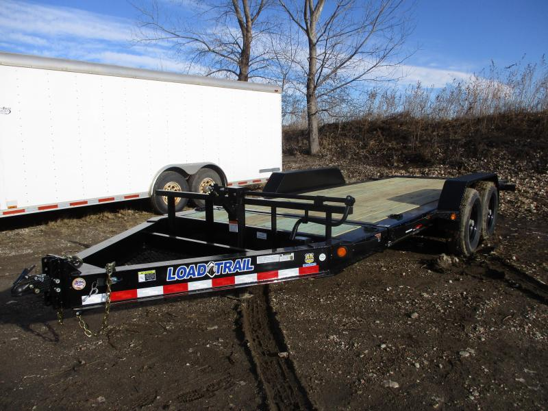 "2019 Load Trail 83""x18' Tandem Axle Tilt-N-Go Equipment Trailer"