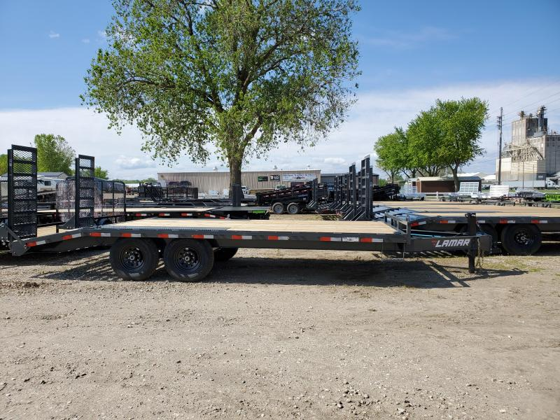 2020 Lamar Trailers 102x20 Tandem Axle Deck Over Equipment Trailer