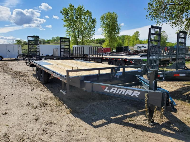 2020 Lamar Trailers 102x20 Tandem Axle Deck Over Equipment Trailer
