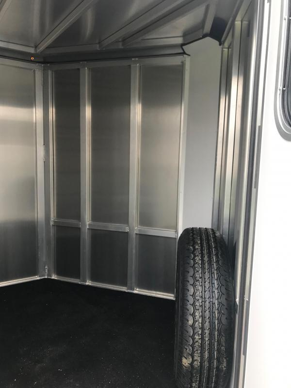 2019 Frontier Low Pro 7x12 4 Pen Trailer
