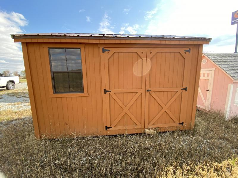 2019 8x12 Side Utility Shed