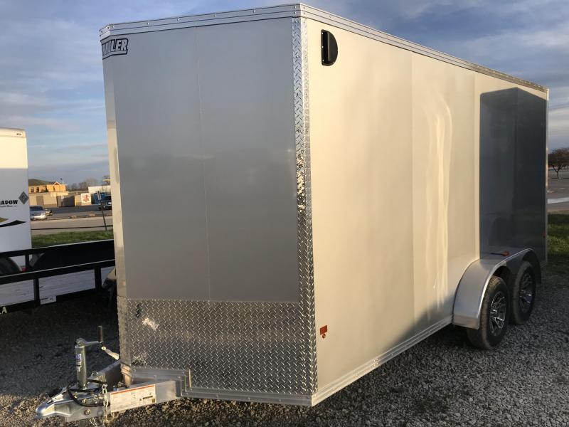2018 EZ Hauler Enclosed 16ft Cargo Trailer