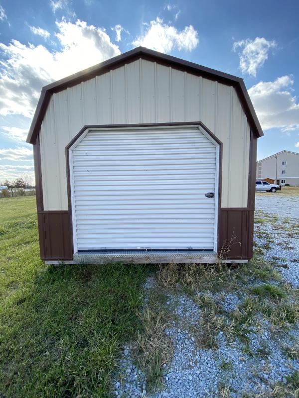 2019 12x32 Lofted Barn Garage *Metal*
