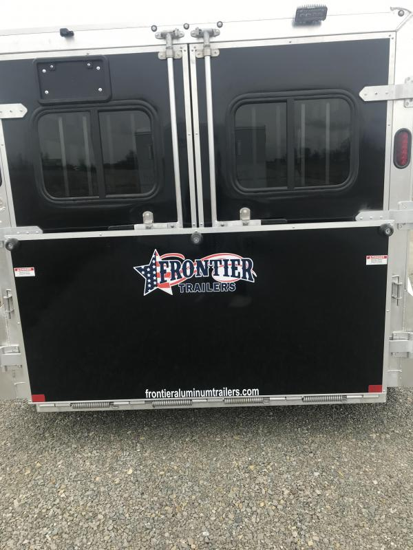 2019 Frontier Low Pro 4 Pen Trailer (NO TRADES)