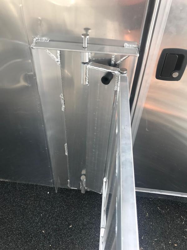 2019 Sooner Select 720W 8 Pen Trailer - AC and Flooring
