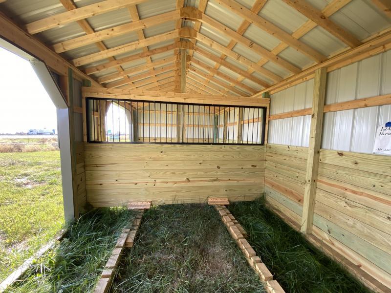 2019 12x24 Horse Shelter