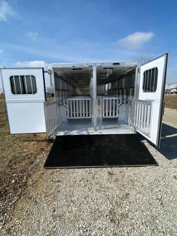 2020 Exiss Exhibitor 8026 Livestock Trailer 10 Pen