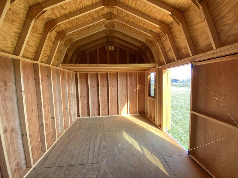 2019 10x16 Side Lofted Barn
