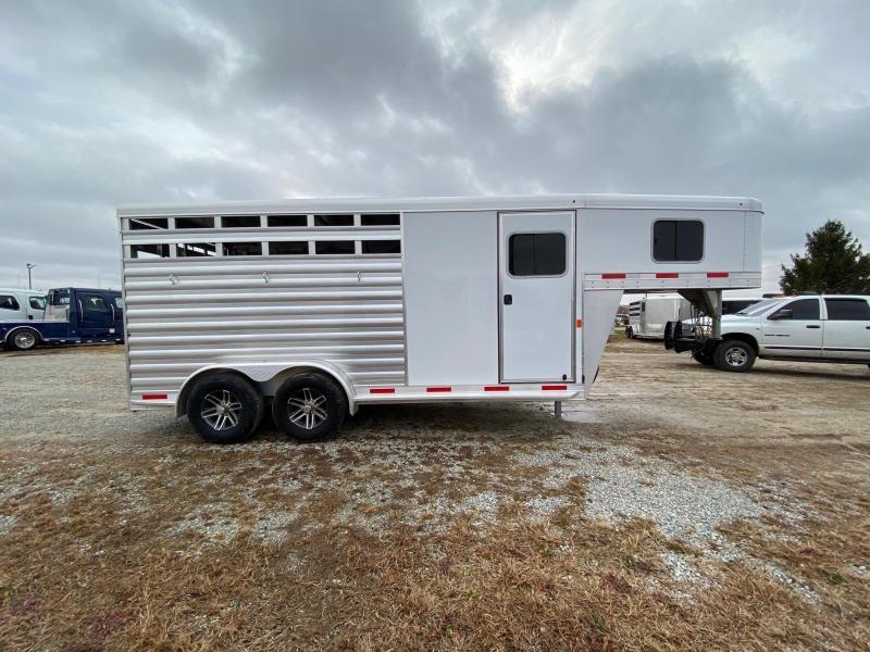 2019 Exiss Trailers Express 3h GN CXF Livestock Trailer