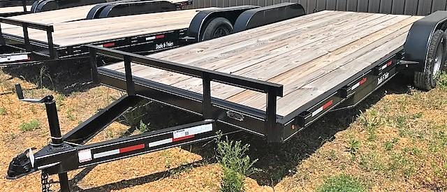 2017 Double G FLAT TRAILER Flatbed Trailer