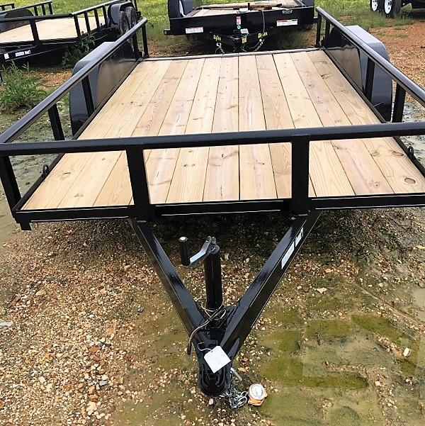 "6'10""x14' Double G Utility Trailer"