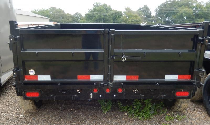 10LX-10 Big Tex Dump Trailer