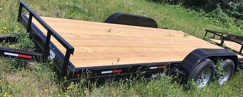 2018 Double G FLAT TRAILER Flatbed Trailer