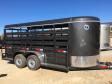 2018 W-W Trailer Livestock Trailer