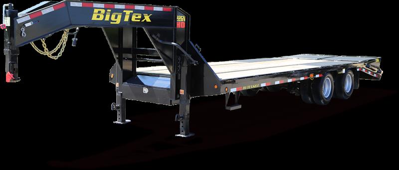 22GN-20+5 Big Tex Gooseneck Flatbed Trailer