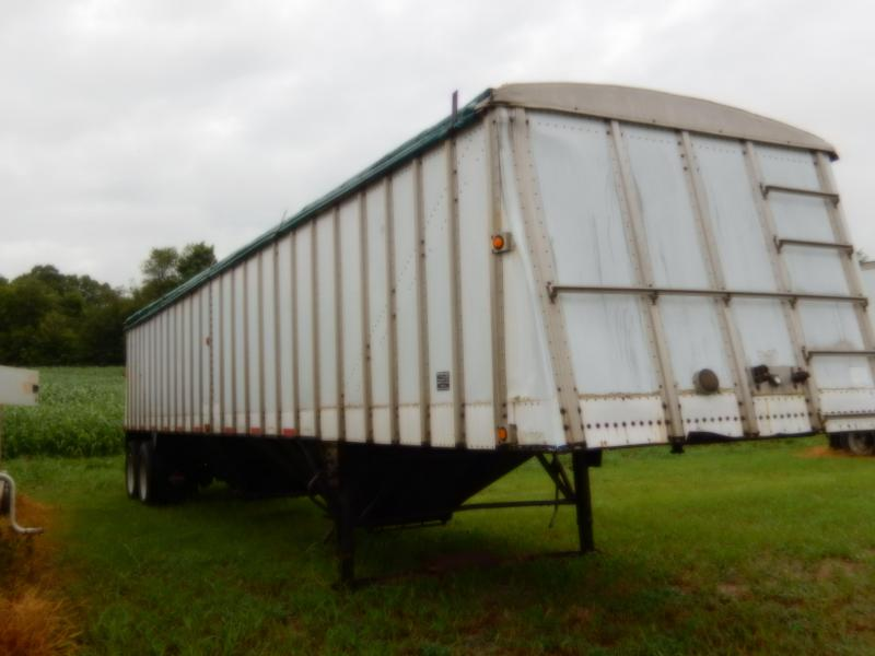 1984 Merrit 40 FOOT ALUMINUM HOPPER BOTTOM TRAILER