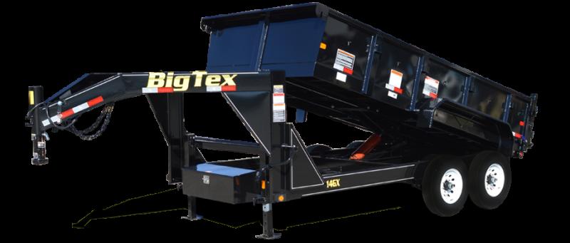 14GX-14 Big Tex Dump Trailer