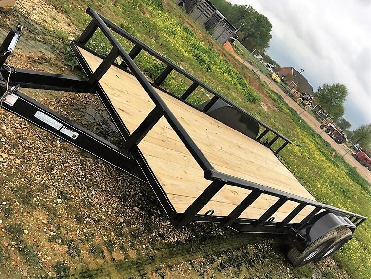 "6'10""x18' Double G Utility Trailer"