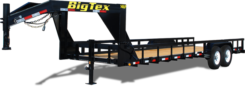 14GP-24 Big Tex Equipment Trailer