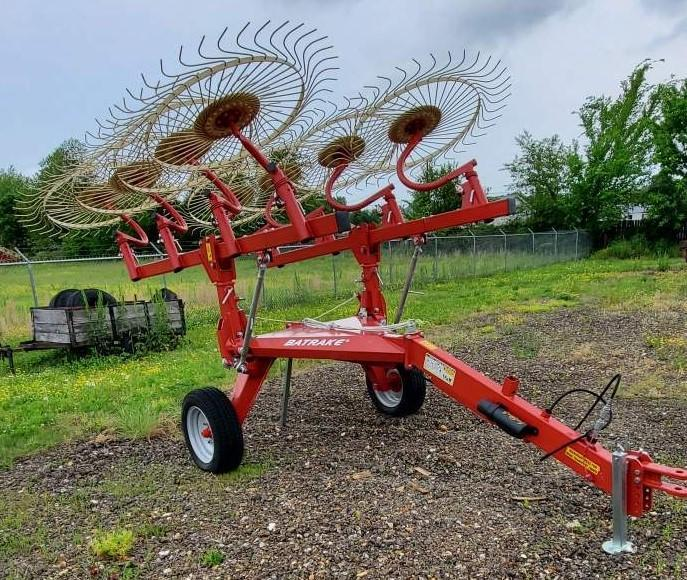 2020 FARM KING 8 WHEEL BAT RAKE Hay / Forage