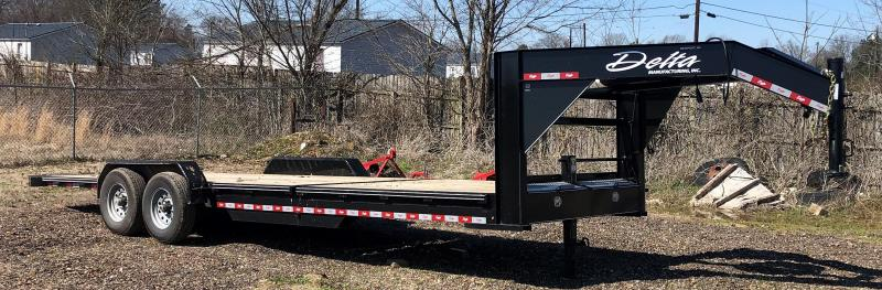 2020 Delta Manufacturing Gooseneck Tilt Equipment Trailer