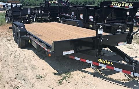 2018 Big Tex Trailers 14et-20bk Equipment Trailer