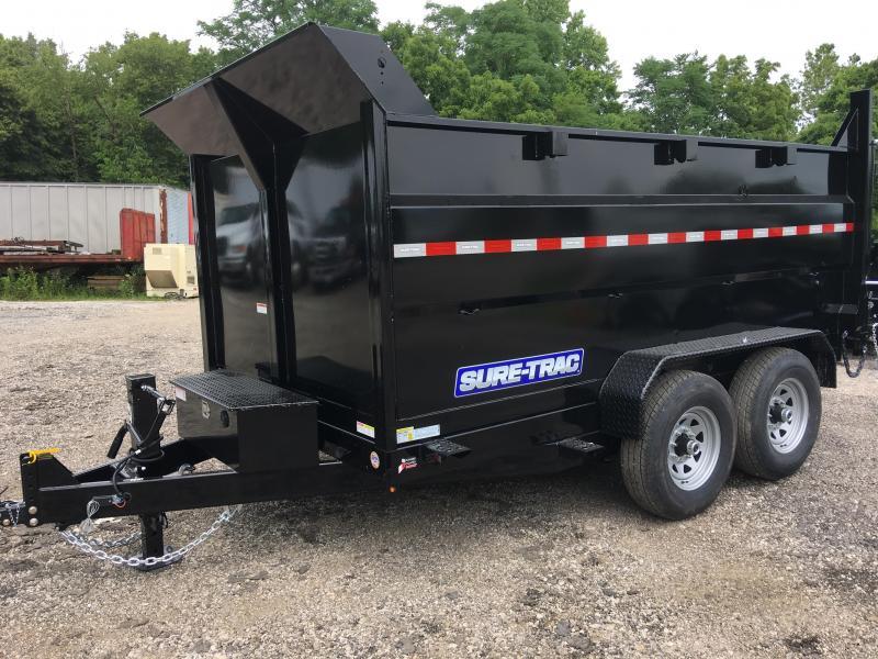2019 Sure-Trac ST8212HLOD4-B-140 HD Low Profile Dump Trailer