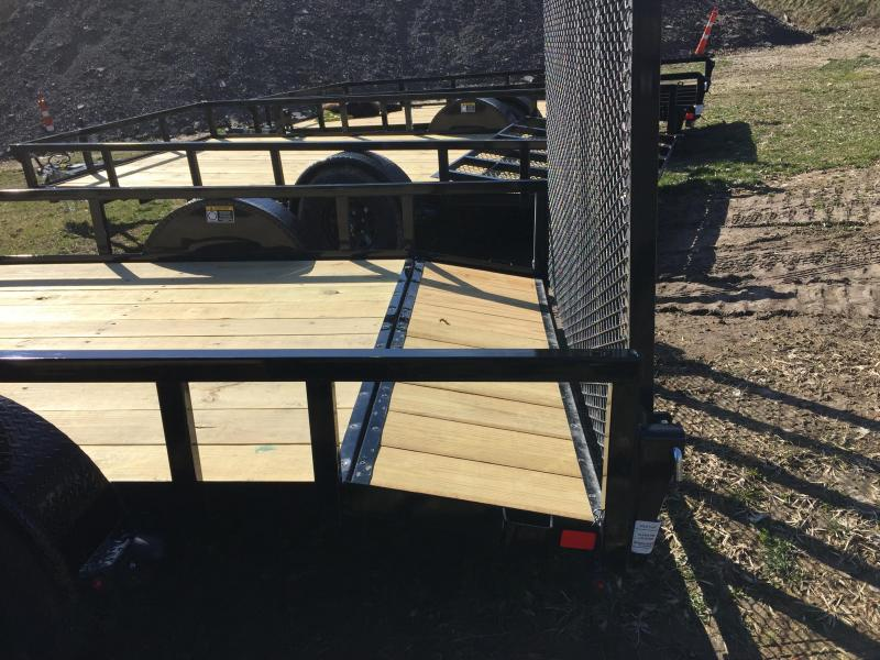 2020 H and H Trailers 76 x 10 + 2 Utility Trailer w dovetail