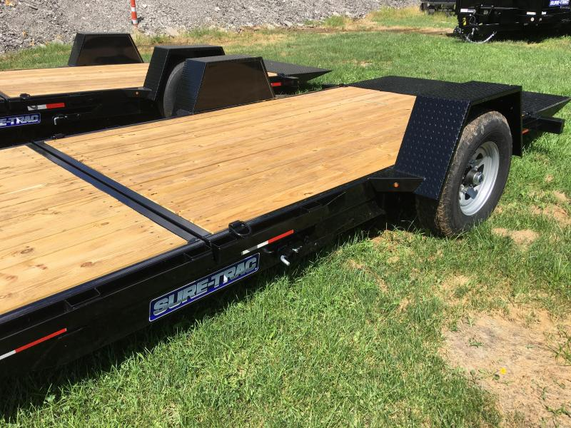 2019 Sure-Trac ST78124SATE-B-078 Gravity Tilt Flatbed Trailer