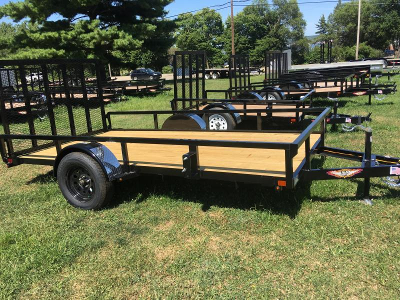 2020 H and H Trailer 76 x 12 Rail Side Utility Trailer