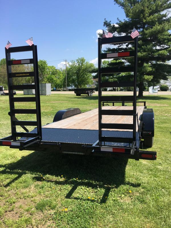 2018 H&H H82X20+2IL-140 Industrial TA Flatbed
