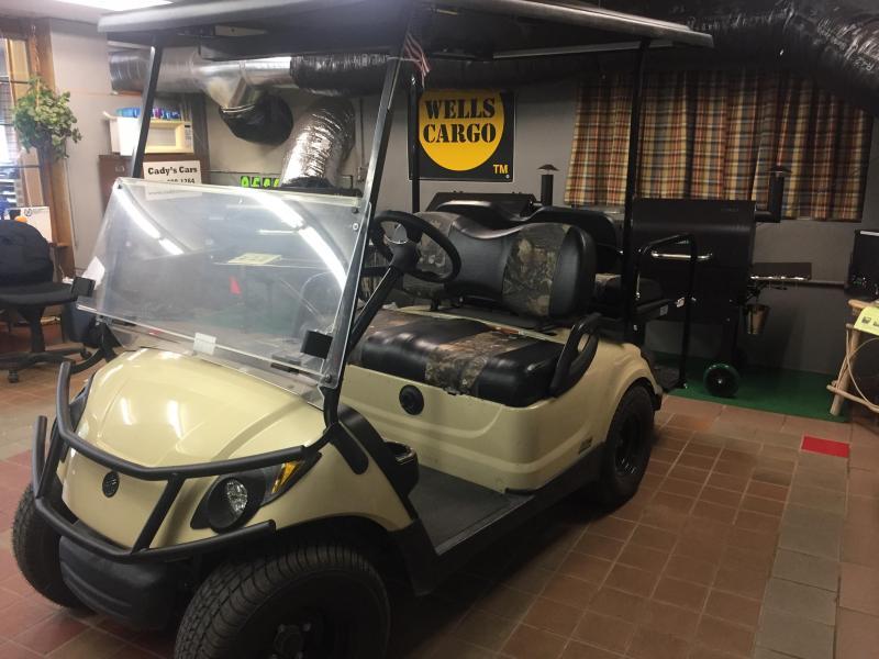2016 Yamaha Drive YDRE 4 Seat Golf Cart
