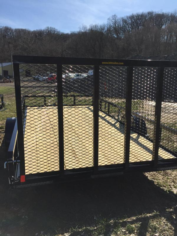 2020 H and H Trailers H8214RS-030 82 X 14 Steel Rail Side 3.5K Utility Trailer