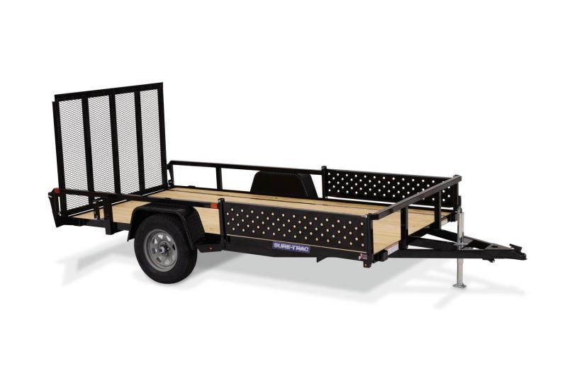 2019 Sure-Trac 82x14 Steel ATV Trailer