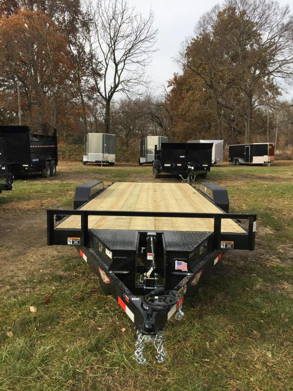 2020 H and H Trailer H8220EX-100 Speedloader Trailer