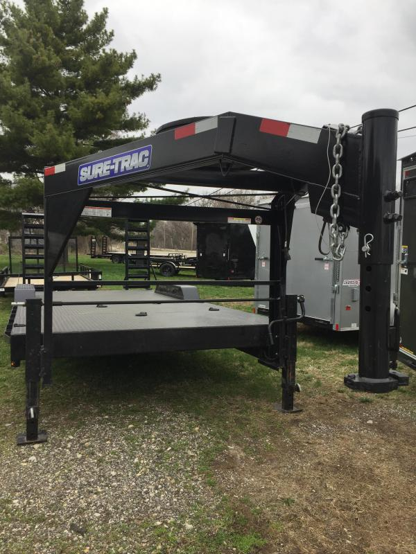 2019 Sure-Trac ST8118ITFD-B-160 Equipment Trailer