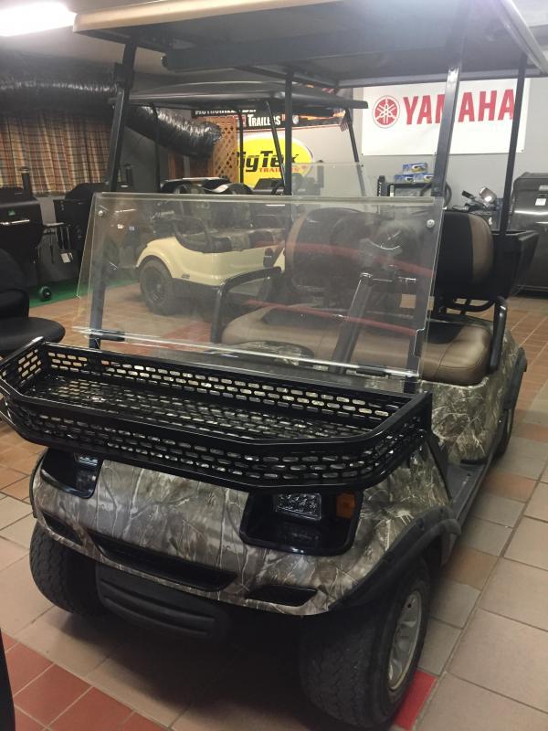 2013 Yamaha Drive YDRE 2 Seat Cargo Golf Cart