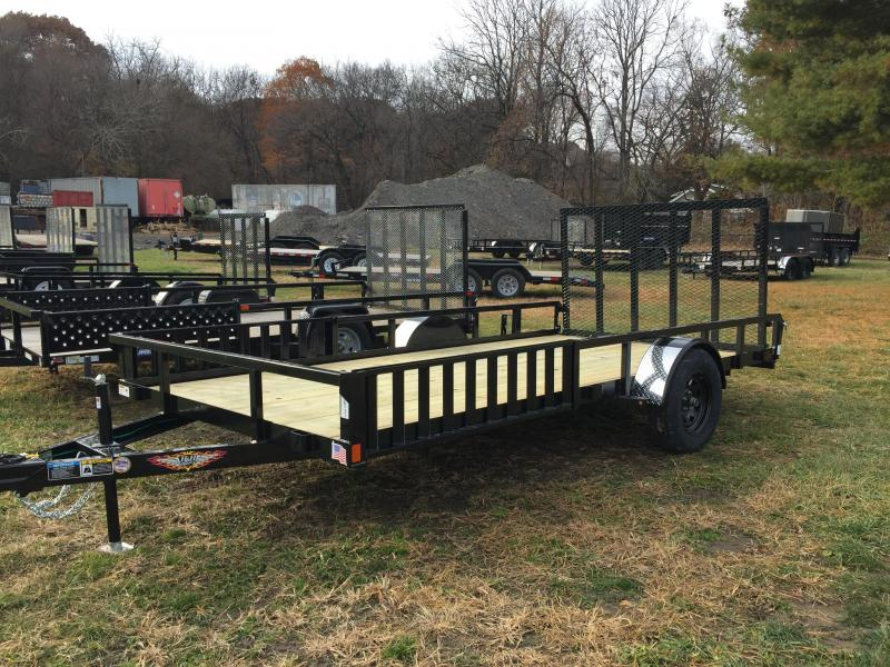 2020 H and H Trailer H8214SHATV-030 ATV Trailer