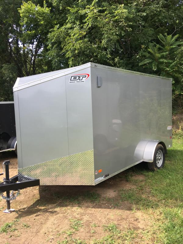2020 Bravo Trailers SC712SA Enclosed Cargo Trailer