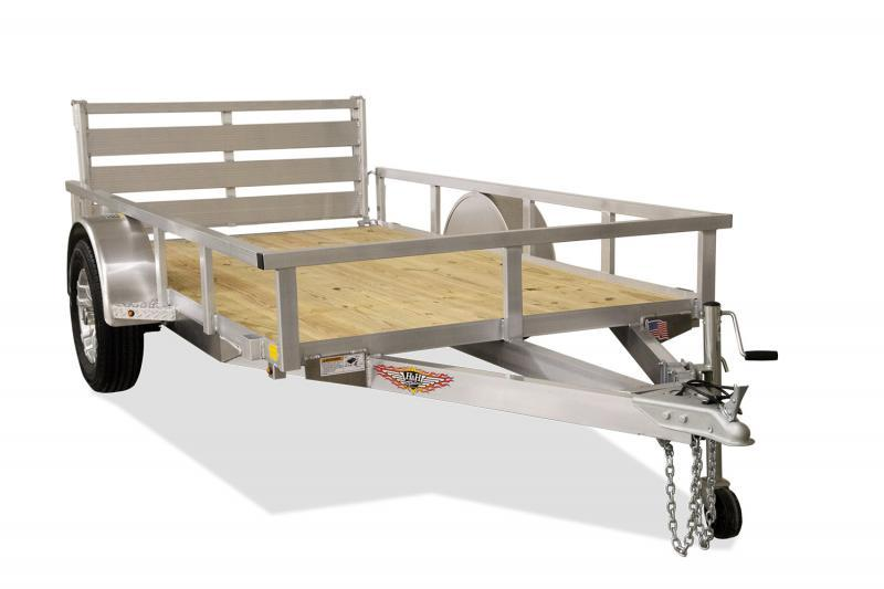 2020 H and H Trailer 82x14 Aluminum Rail Side Utility Trailer
