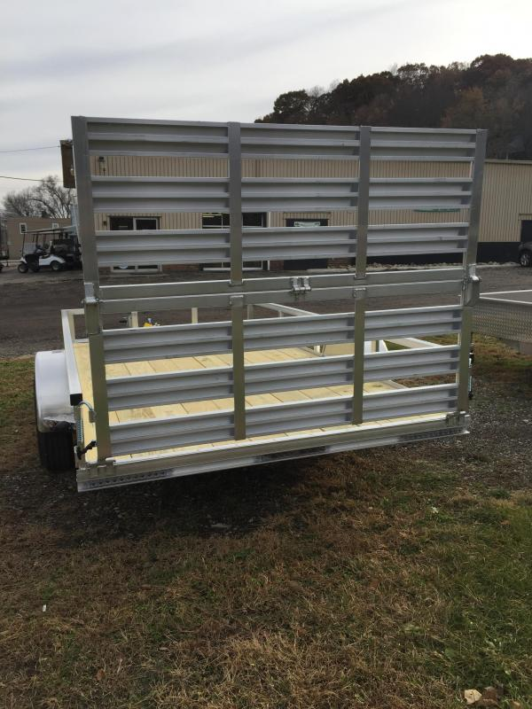 2020 H and H Trailer 76x12 Aluminum Rail Side Utility Trailer
