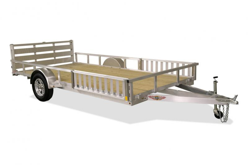 2020 H and H Trailer 82 x 14 Alum ATV Trailer