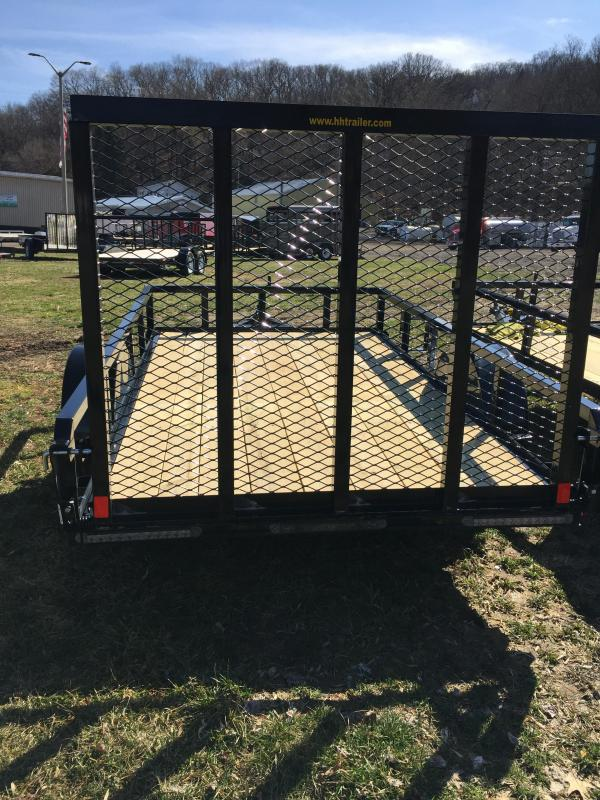 2020 H and H Trailers H6610RS-030 66 x 10 Steel Rail Side 3.5K Utility Trailer