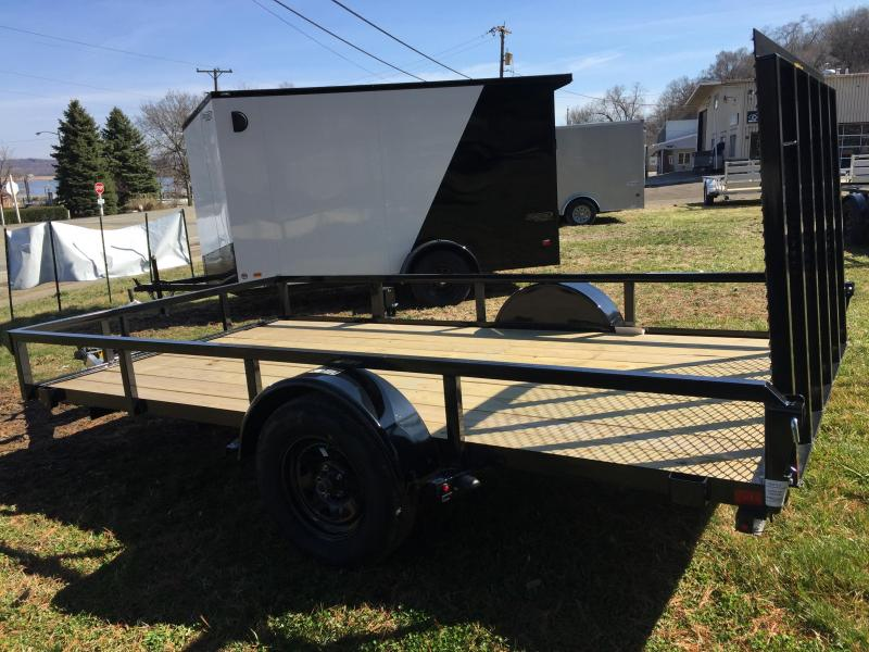 2020 H and H Trailers H7612RS-030 76 x 12 Steel Rail Side 3.5K Utility Trailer